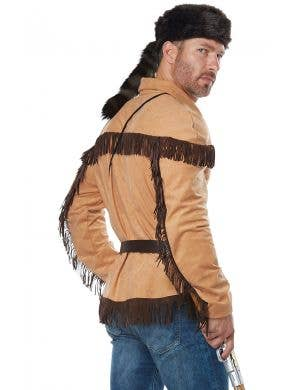 Frontier Man Davy Crockett Men's Costume