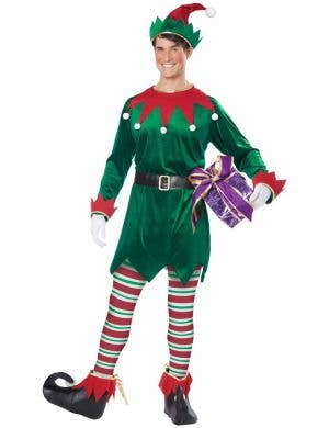 Christmas Elf Adults Fancy Dress Costume
