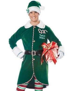 Workshop Elf Men's Deluxe Christmas Costume