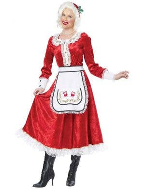 Classic Mrs Claus Women's Christmas Costume