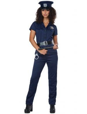 Classic Police Officer Women's Fancy Dress Costume