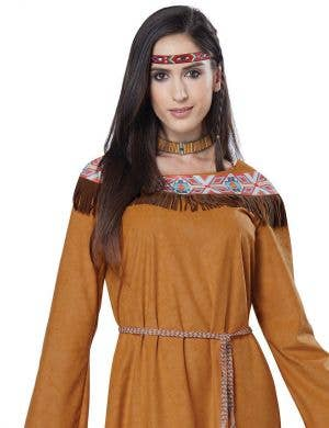 Classic Indian Maiden Women's Fancy Dress Costume