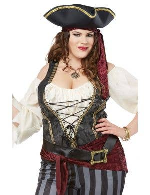 Brazen Buccaneer Plus Size Women's Pirate Costume