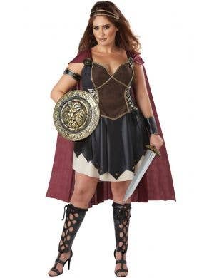 Glorious Gladiator Womens Plus Size Costume