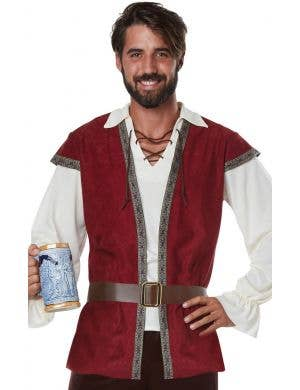 Medieval Squire Plus Size Men's Fancy Dress Costume