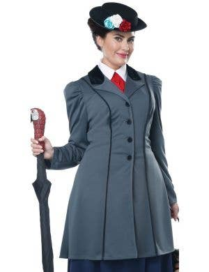 English Nanny Plus Size Women's Mary Poppins Costume