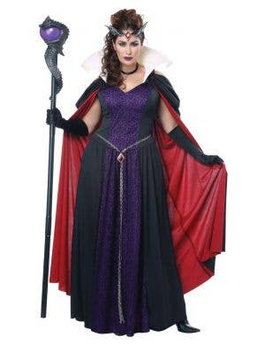 Evil Storybook Queen Maleficent Plus Size Women's Costume