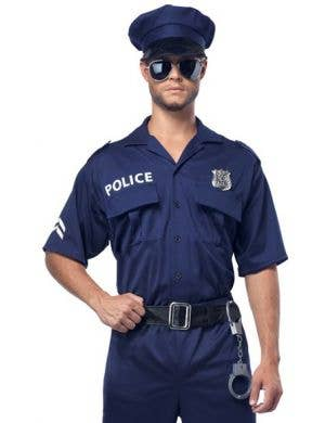 Classic Police Officer Plus Size Men's Costume