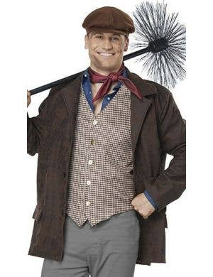 Chimney Sweep Plus Size Men's Victorian Era Costume