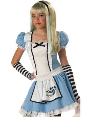 Alice in Wonderland Girl's Traditional Costume