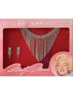 Marilyn Monroe Deluxe Rhinestone Jewellery Set