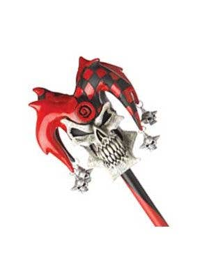 Psycho Jester Halloween Cane Costume Accessory
