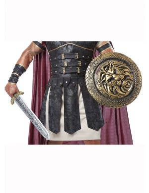 Gladiator Deluxe Costume Combat Sword and Shield