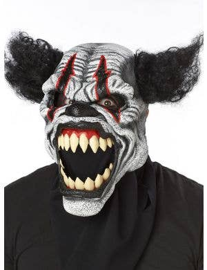 Last Laugh Clown Deluxe Ani-Motion Halloween Costume Mask