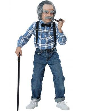 Old Person Walking Stick Kid's Costume Accessory