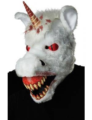Evil Unicorn Deluxe Animotion Halloween Mask