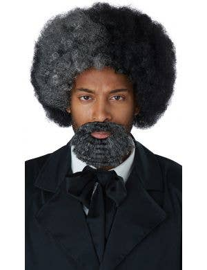 Fredrick Douglass Men's Costume Wig with Goatee