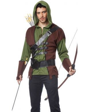 Medieval Outlaw Men's Robin Hood Costume