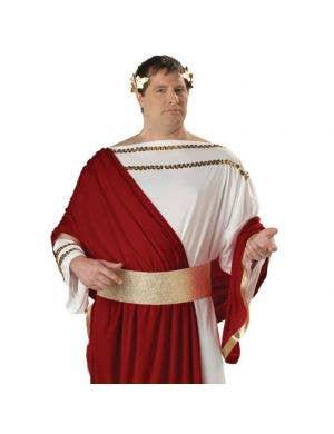 Julius Caesar Plus Size Men's Costume