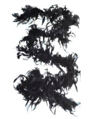 Burlesque Budget Black Feather Boa Costumes Accessory