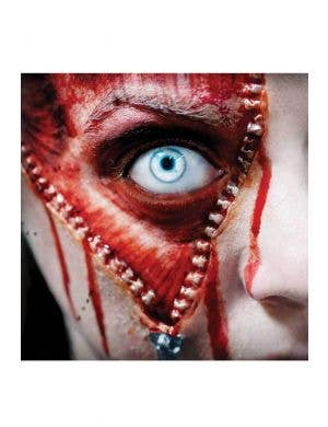 Zipper Face Hollywood Quality 3D FX Transfer Wound