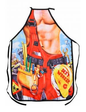 Sexy Worker Funny Adults Printed Costume Apron