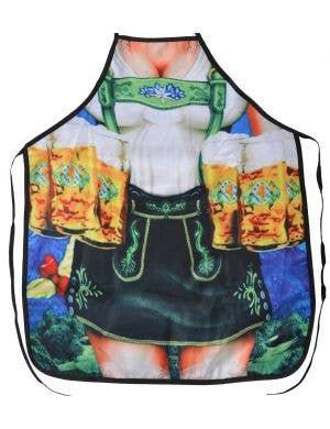Lederhosen Beer Girl Funny Adults Oktoberfest Costume Apron
