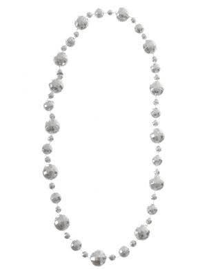 Disco Ball Silver 1970's Necklace Costume Accessory