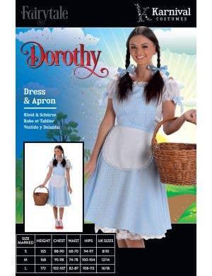 Darling Dorothy Women's Fancy Dress Costume