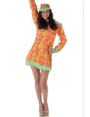 Groovy Girl Women's 1960's Hippie Costume