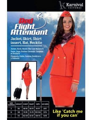 Retro Flight Attendant Women's 1940's Costume