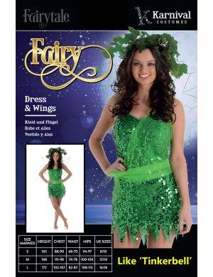 Neverland Fairy Sexy Women's Tinkerbell Costume