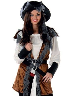 Salty Doll Women's Pirate Captain Costume
