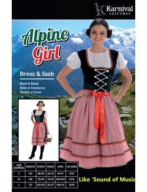 Alpine Girl Women's Sound of Music Costume