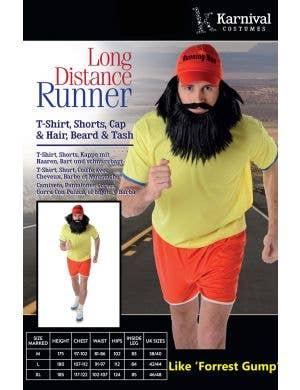 Long Distance Runner Men's Forrest Gump Costume