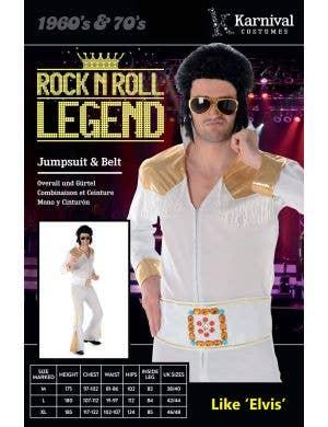 Rock Legend Men's Elvis Presley Costume