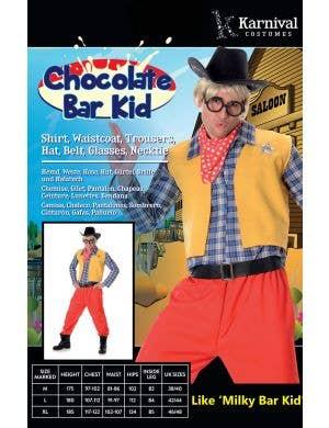 Milkybar Kid Men's Novelty Fancy Dress Costume