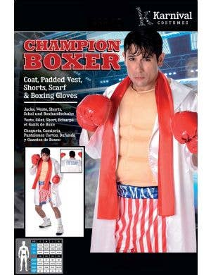 Champion Boxer Men's Rocky Balboa Costume
