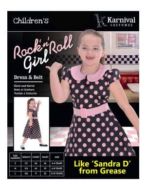 Rock 'N' Roll Girls 1950's Costume