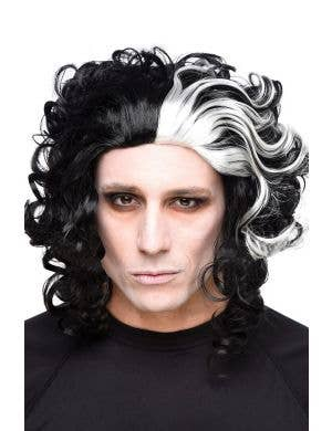 Cut Throat Barber Men's Halloween Costume Wig