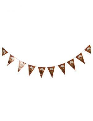 Happy Halloween Hanging Pumpkin Bunting Decoration