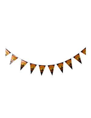 Pumpkin Graveyard Hanging Halloween Bunting Decoration