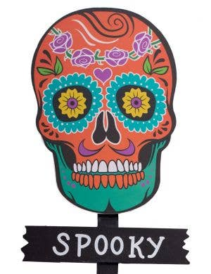 Haunted Day of the Dead Garden Stake Decoration