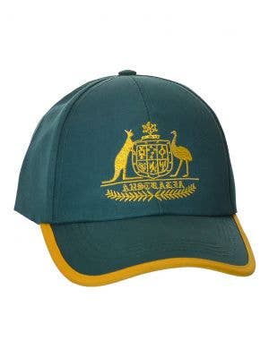 Aussie Green and Gold Cricket Cap