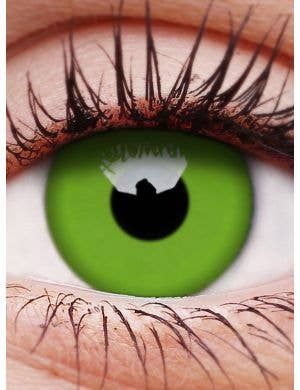 Glow Green 3 Month Wear UV Reactive Contact Lenses
