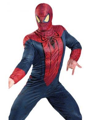 Spiderman Men's Movie Superhero Fancy Dress Costume