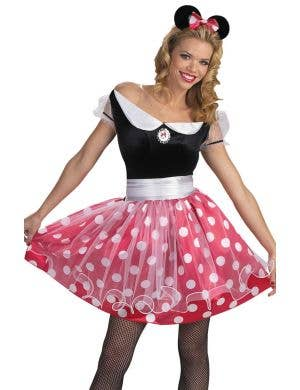 Deluxe Minnie Mouse Disney Women's Costume