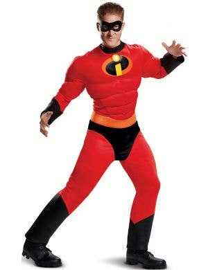Mr. Incredible Men's Plus Size Muscle Chest Costume