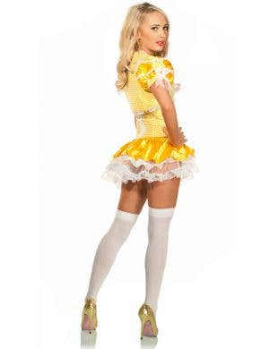 Golden Goldilocks Sexy Women's Costume