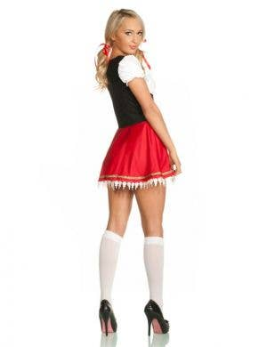 Beer Wench Women's Costume in Red